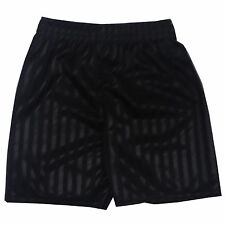 2 x Children Kid Boy Girl PE School Football Sport Shade Stripe Gym Shorts