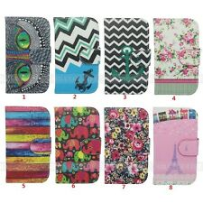 For Samsung Galaxy S3 mini i8190 PU Leather Case Flip Stand Wallet Holder Cover