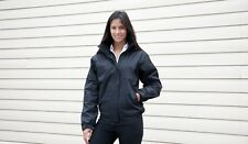 RESULT R221F LADIES CORE CHANNEL JACKET BLACK OR NAVY VARIOUS SIZES NEW