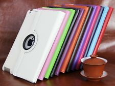 360 Rotating Folio Stand PU Leather Case Cover For Apple iPad Air 5 5th Gen 9.7""