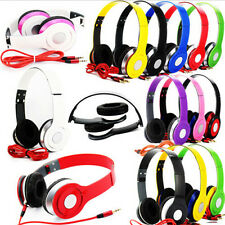 Universal Adjustable Over-Ear Earphone Headset 3.5mm For iPod iPhone MP3/4 4S 5S