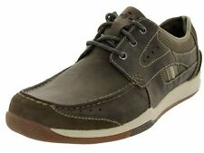 CLARKS WATKINS RACE MEN'S CASUAL SHOES GREEN COLOR STYLE # 63492