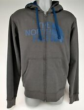 THE NORTH FACE MEN GRAPHITE GREY HALF DOME FULL ZIP HOODIE TNF IRREG BRAND NEW
