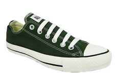 Converse All Star CT Womens Kombu Green & White Canvas Brand New Low Ox Trainers