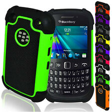 Shock Proof Hard Dual Silicone Gel Case Cover For BlackBerry BB Curve 9220 9320
