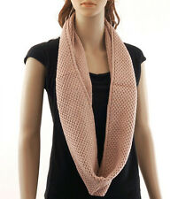 2014 Fashion Infinity Knit Scarf 12 SOLID COLORS Buy 5 Get 1 Free