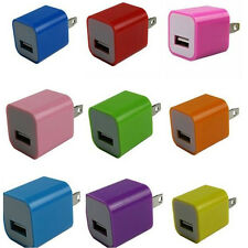 USB Home AC Wall Charger Pin Data Sync Cable for iPhone 5 5S iPod Touch Apple