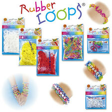 Rainbow Loom® Starter Set & folia® RubberLoops® Gummibänder * Rubber Loops Bands