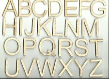 Entire Alphabet Any Font Unfinished Capital Wood Letter Craft  Laser Cut Outs