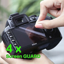 4 x Camera LCD Screen Protector Guard For Pentax Cameras