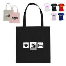 Tv Advertising Marketing Gift Tote Bag Daily Cycle Advertising