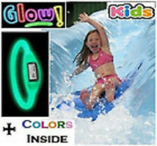 Silicone ION Sport WATCH GLOW in the Dark Kids, Teen Women Silicon Jelly Rubber