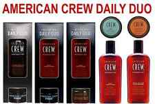 AMERICAN CREW - DAILY DUO PACKS - Shampoo or Conditioner - Fiber or Define Paste