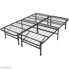 All Sizes Platform Steel Bed Frame No Box Spring Needed Foundation Mattress New