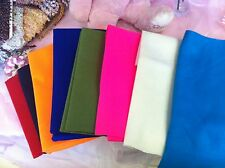"""Quality Felt Fabric 18"""" X 2 yards   Choose From ... 14 Colors"""