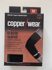 AS SEEN ON TV -Copper Wear Unisex Compression Elbow Sleeve- 3 Sizes Available!