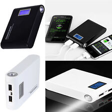 NEW 12000mAh USB Portable External Power Bank Battery Backup Charger For Iphone