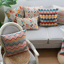 "18"" Pillow Case Pillowslip Home Room Decor Back Sofa Cushion Cover 9 Chioces New"