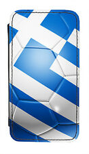 Greece Flag Football Ball PU Leather Phone Cover Case Greek Soccer Athens Gift