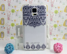 Design Pattern Soft TPU Gel Case+screen protector for Samsung Galaxy S5