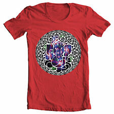 Red 'Eleball' illusion bong legalize weed 3D graphic design original T-Shirt