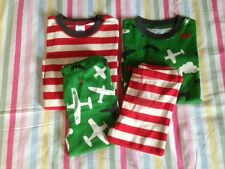BNIB Mini Boden Twin Pack Pyjamas / Long Johns RRP £30-35 / Age 4-5-6