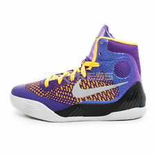 Nike Kobe IX Elite GS [636602-501] Basketball Court Purple/White-Laser Orange