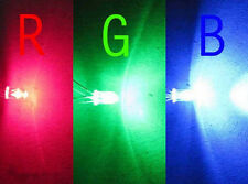 10x 100x 1000x 5MM 4PIN RGB RED BLUE GREEN COMMON ANODE/CATHODE LED LIGHTS DIODE