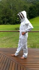 PREMIUM Beekeeping Overalls Bee Hive Suit with Optional Vented Leather Gloves