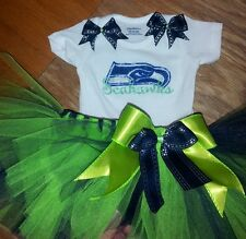 Seattle Seahawks tutu outfit, NFL, football, sizes nb-6