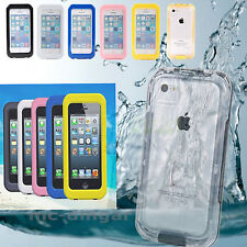 Durable Waterproof Shockproof Dirt Snow Proof Case Cover For  iPhone 5S 5C 5 4S