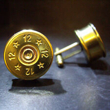 Shotgun Shell Cartridge Cap Cufflinks for the Hatsan Arms owners Birthday