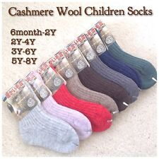 3 pairs Children Cashmere Wool Socks for Autumn or Winter + free shipping