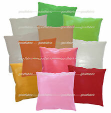 pe+11 Colors Classic Pattern Faux Leather Cushion Cover/Pillow Case Custom Size