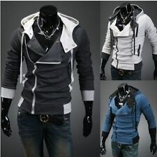 Assassin's Creed III 3 Desmond Miles Cosplay Costume Hoodies Jacket Coats