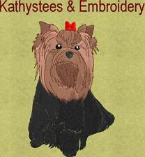 Yorkie Dogs - EXCLUSIVES! - Machine Embroidery Designs Set of 10 On CD