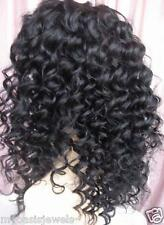 Indian Human Hair Remi Remy FULL Lace Wig Wigs #1 Ships in 7 Days High Quality