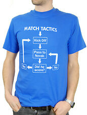 Match Tactics, Pass to Novak - Funny Birmingham City FC Football T-shirt