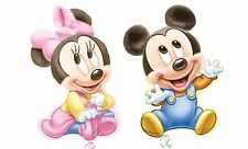 "32""  BABY MICKEY / MINNIE MOUSE BIRTHDAY PARTY SUPERSHAPE FOIL BALLOON"