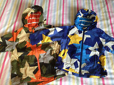 BNIB Mini Boden Jersey Lined Anorak 'Staroflage' RRP £34-38 Age 2-3-4-5-6-7-9-10