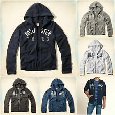 New Hollister Men's Surfers Knoll Hoodie Fleece Size Small, Medium, Large, XL