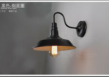 """Vintage Idustrial Retro Simple Style Barn Wall Lamp Sconce Outdoors Light 10"""""""