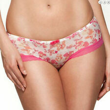 New Gossard Glossies Floral Frenzy Shorts Free UK P&P RRP £14