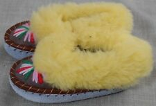 SIZE UK9/10 EU27/28 CHILDREN SHEPPSKIN SLIPPER MULES MOCCASINES