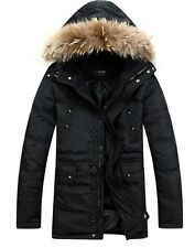 New men's clothing long down coats thickening winter keep warm jackets size