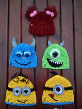 Despicable Me Minion Hat Devil Minion Mike Wazowski Sully Minion One-eye  Hat