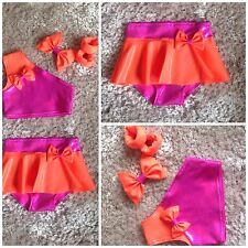 Freestyle girls dance costume/ disco/ modern - all sizes & colours, solos, duets
