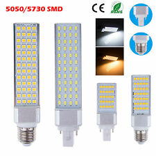 E27 G24 5W/7W/9W/10W/11W/12W/13W 5050 5730 SMD LED Spotlight Lamp Warm/Day White