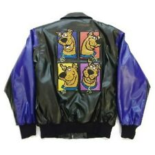 LOONEY TUNES, SCOOBY DOO, CHARACTERS BOMBER BLEATHER JACKET EX 0650
