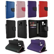 For Kyocera Hydro Life C6530 Luxury Wallet Flip Case Cover w/ Card Holder &Strap